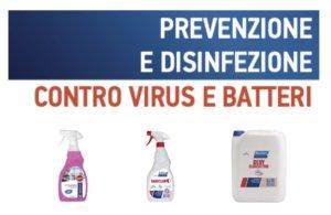EDERCHIMICA – Prevenzione e disinfezione contro VIRUS e BATTERI