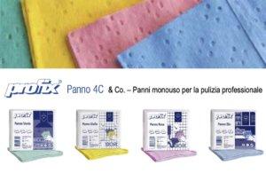 INDUSTRIE CELTEX – 4C & Co. Panni monouso e multiuso per la pulizia professionale